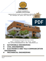 Shivneri Polytechnic Prospectus 2014-15