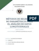 Métodos de Regresión No Paramétricos Para El Análisis de Datos Longitudinales