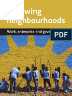 Renewing Neighbour Hood - Work, Enterprise and Governance