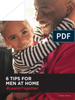Tips for Men at Home #LeanInTogether