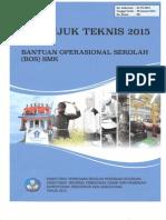 Petunjuk Teknis BOS 2015