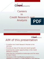 Presentation Careers in Credit Research Aiwmi May 27