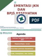 Sosialisasi BPJS Kesehatan - BU n COB