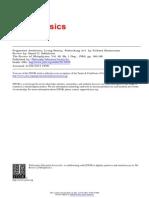 Dahlstrom review of Shusterman - Pragmatic Aesthetics