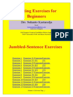 Writing Exercises for Beginners