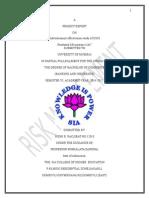 NIDHI Effectiveness of Advertisement on Insurance Company