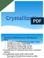 Crystallization Powerpoint