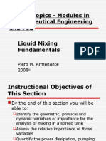 Liquid Mixing Fundamentals
