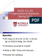 Ch 0. Course Introduction (Spring 2015, OB)