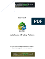 eBook Secrets of MetaTrader4