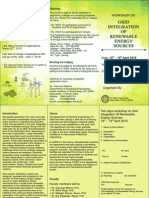 Grid Integration Workshop IIT delhi