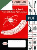 Shure Catalog 1955