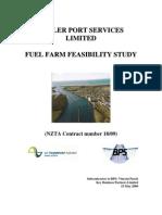 Fuel Farm Feasibility Study