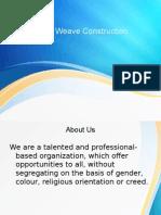Triple Weave Construction