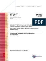 ITU P863 Specification