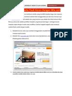 Membuat Website Flash Keren Dengan Wix