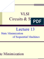 Lecture 13 State Minimization of Sequential Machines