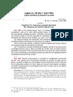 6671 Fp 3489 Infractiunile Prevazute in Legile Speciale Actualizata Cu Modificarile Aduse Prin Legea Nr 1872012 Si Legea Nr 2552013 Extras