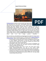Langkah Penanggulangan Kebakaran Hutan