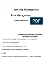 05 Ent Mgmt - Risk Mgmt Session 5