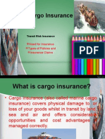 Cargo Insurance Unit 6