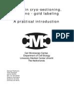 Ultrathin cryosectioning immunogold labelling