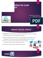 ITFM PPT Group B7 Lead Generation Twitter