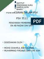 Pentaksiran PSV 3111.pptx