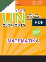 Materi Pengayaan UN Matematika SMP MTs 2015