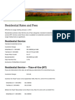 Residential Rates and Fees 2015 - City of Burlington-Electric