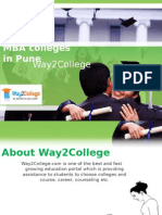MBA Colleges in Pune
