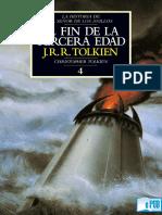 JRR Tolkien - 4 - El Fin de La Tercera Edad