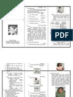 Brochure Mengenal Anak Dengan Diare Dan Demam