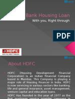 HDFC Bank Housing Loan
