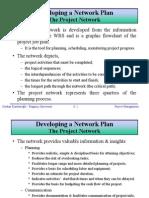Developing a Network Plan - CPM