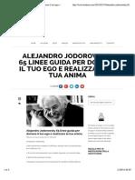 Alejandro Jodorowsky 65 linee guida per domare il tuo ego e realizzare la tua anima | TeStesso.com