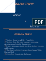 english trip presentation