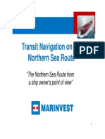 Patrik MossbergTransit Navigation on the Northern Sea Route