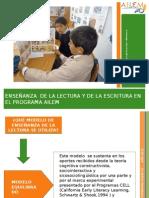 Enseñanza de la lectura y de la escritura en el Programa Ailem
