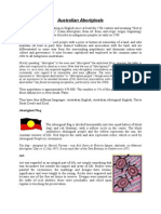 Aboriginals - presentation