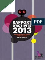 Rapport d'activités 2013 (Light)