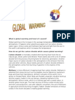 What is Global Warming and How is It Caused