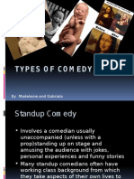 Types of Comedy English