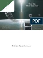 Cold Gas Micro Propulsion