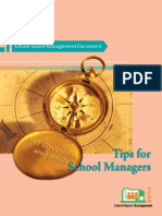 Tips for School Managers
