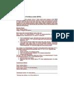 Contoh Form DNR