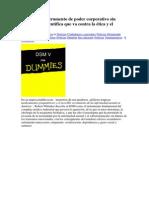 DSM-5 - Un Instrumento de Poder Corporativo Sin Credibilidad Científica Que Va Contra La Ética y El Sentido Común