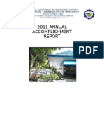 2011 Annual Accomplishment Report