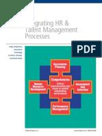 Integrating HR & Talent Management Processes