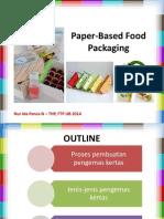 Paper-Based Food Packaging